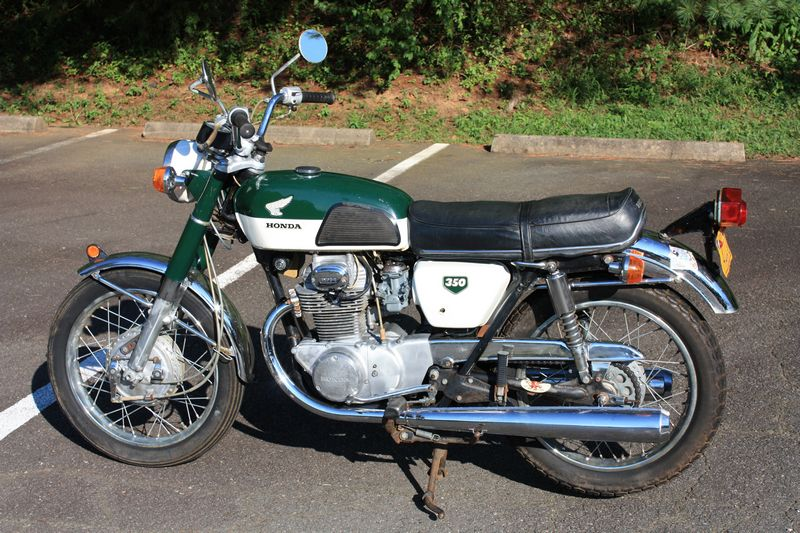 Honda Parts Cheap >> Honda CB350 Bone Stock - dc Classic Cycles