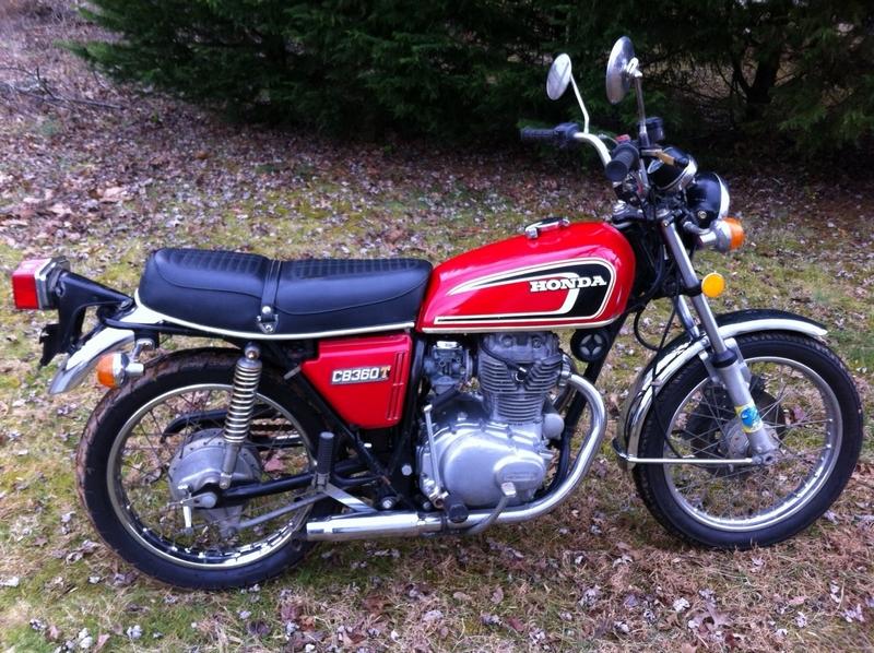 1975 Honda CB360 - Runs with title - DCSportbikes.net