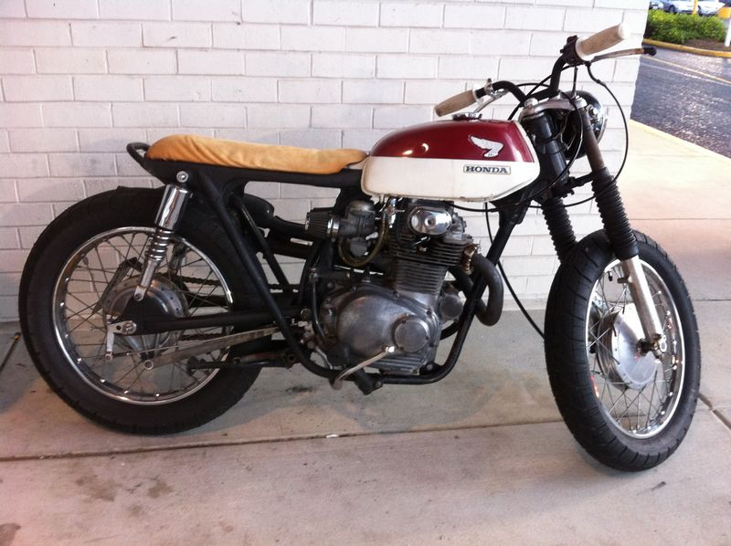 Honda CL350 Tracker