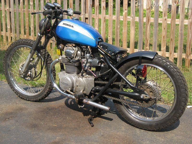 1970 honda cb350 bobber