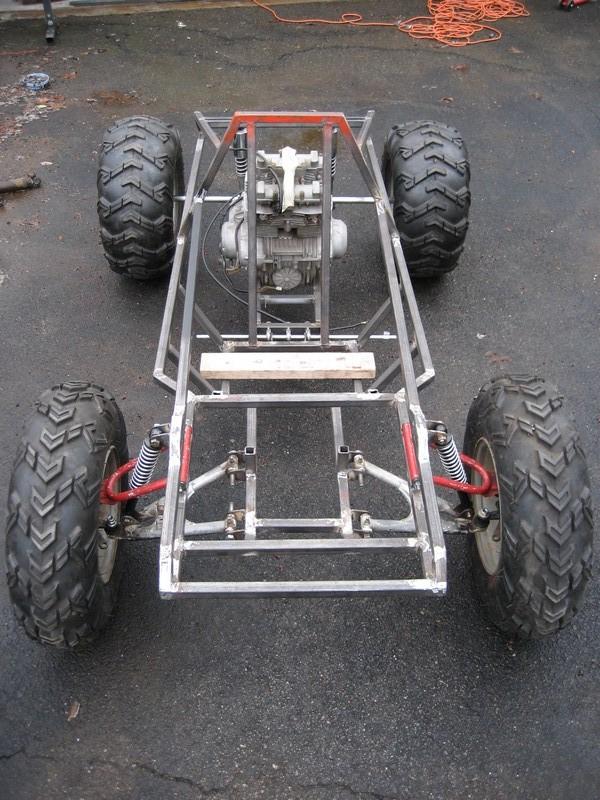 Custom Go Kart - dc Classic Cycles